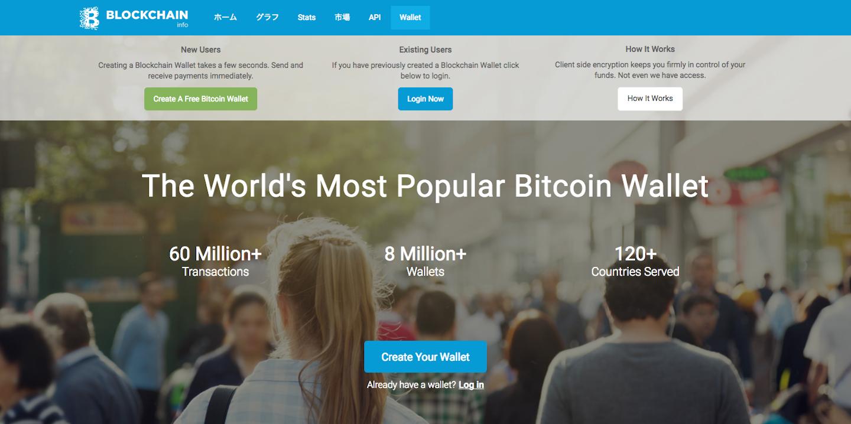 ウェブベースウォレットBitcoin Wallet使用体験レポート