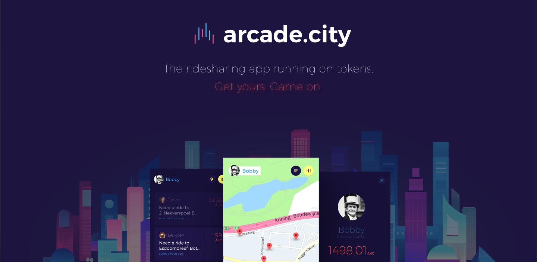 ブロックチェーンとシェアリングエコノミー – Arcade City