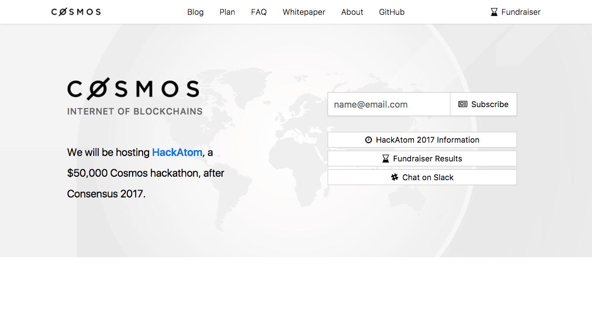 ブロックチェーン同士をつなぐサービス「Cosmos」