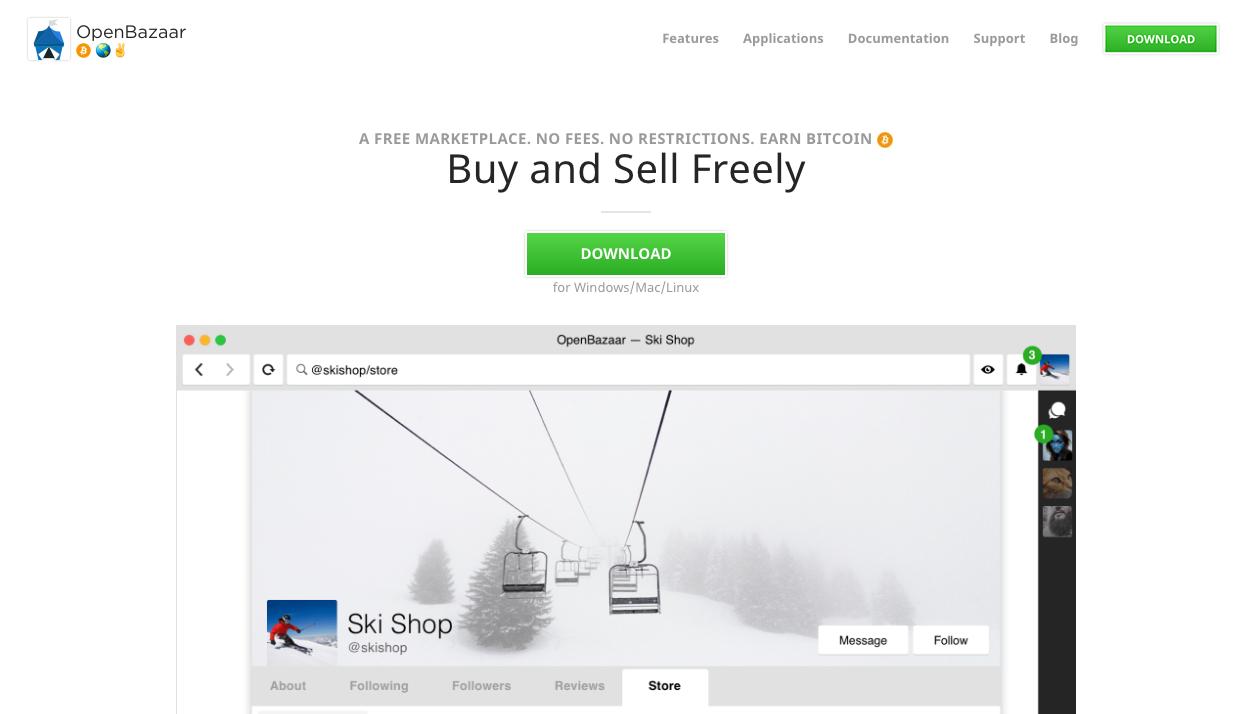 「OpenBazaar」ビットコインを使ったフリマプラットフォーム