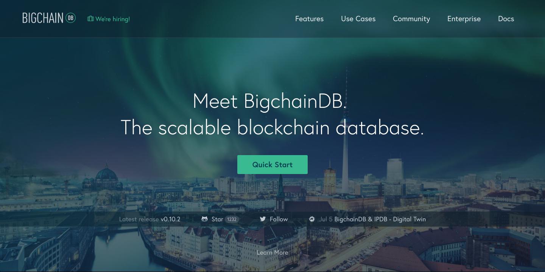 BigchainDB Image 01