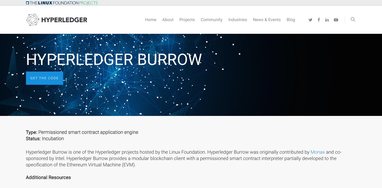パーミッション型EthereumスマートコントラクトマシンHyperledger Burrow