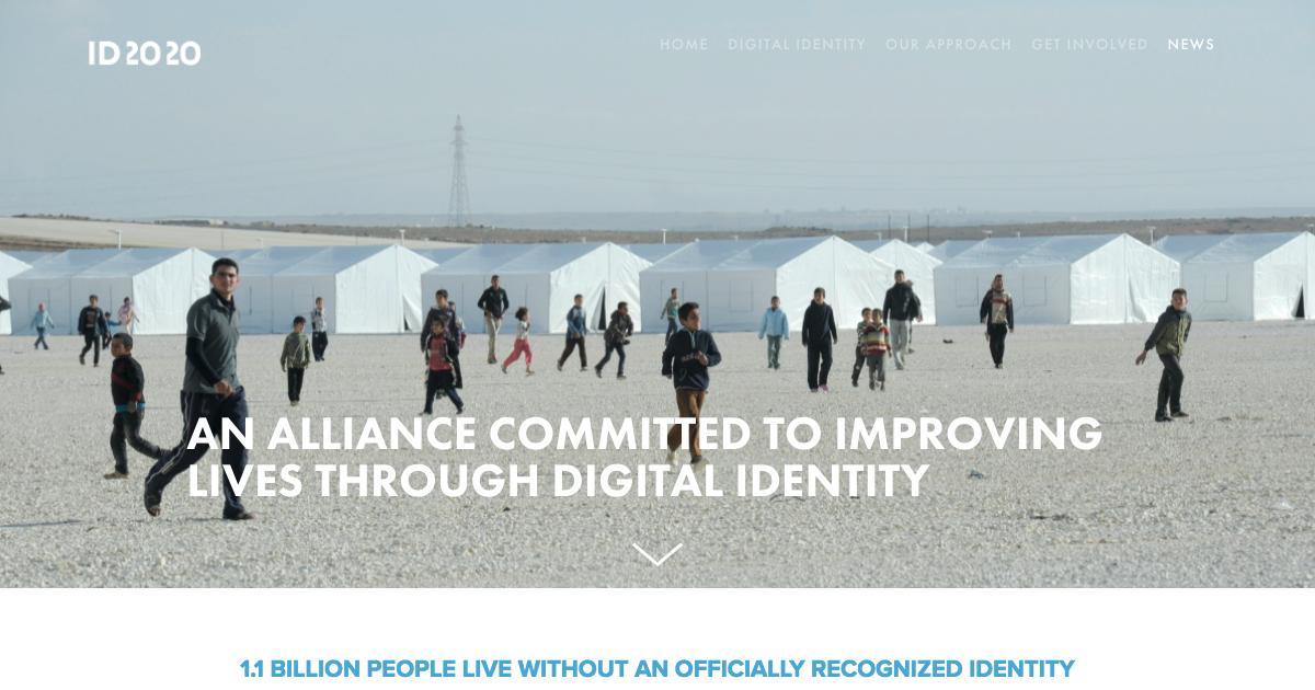 デジタルIDで人権保護を目指すID2020