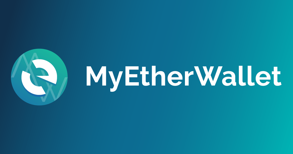 EthereumとERC20トークンをサポートするMyEtherWallet