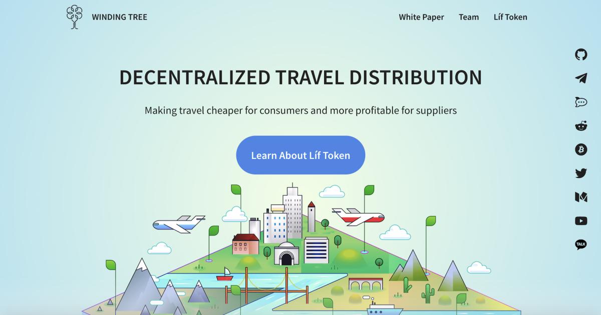 ブロックチェーンで旅行業界の変革を目指すWinding Tree
