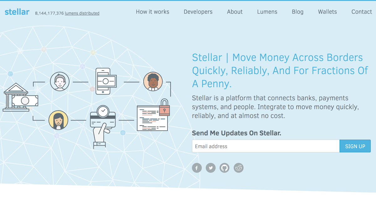 オープンな国際送金ネットワークStellar