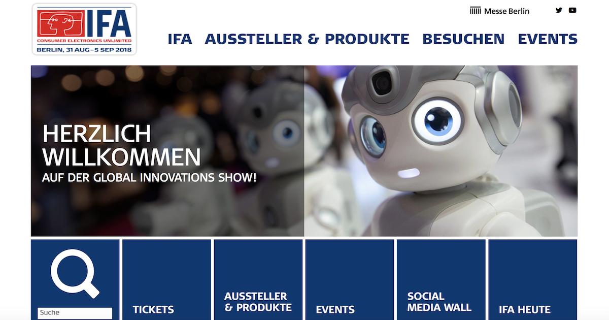国際コンシューマ・エレクトロニクス展IFAとブロックチェーン