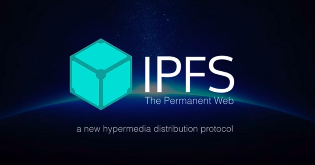 「IPFS」分散型ファイルシステム