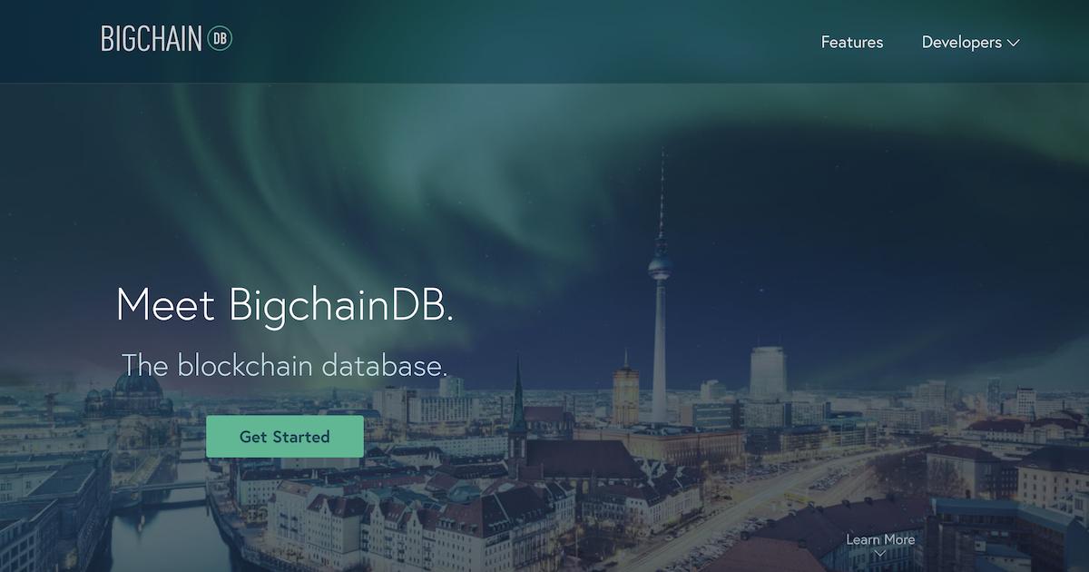 ブロックチェーンデータベースBigchainDB 2.0