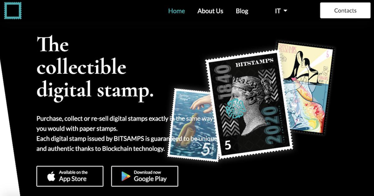 コレクティブルとしてのデジタル切手を作り出すBitstamps