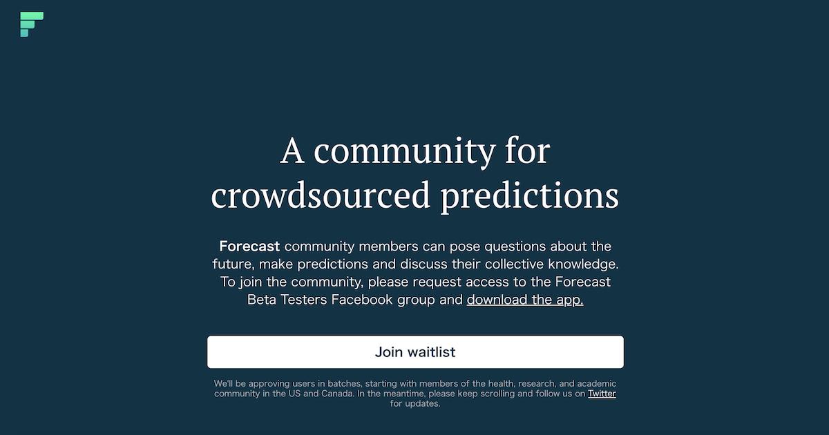 Facebookが挑戦する未来予測サービスForecast